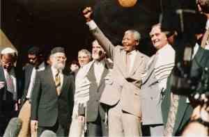 Nelson Mandela en de joden