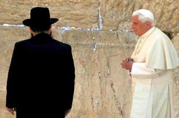 "De ""Klaagmuur"" in Jeruzalem"