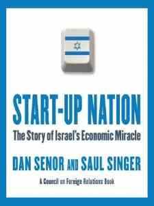 """Dan Senor en Saul Singer hebben een boek geschreven over Israel als """"start-up land"""". Het boek is in 12 talen vertaald, waaronder Japans, Chinees, Koreaans."""
