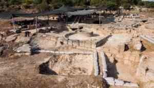 archeologie israel wijnpers ontdekt