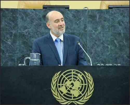 ron prosor israel verenigde naties j'accuse speech