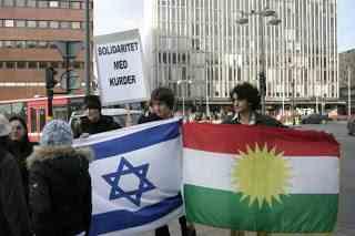 vlag israel kurdistan