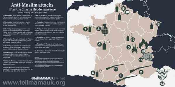 2015-01-11 anti moslim geweld in frankrijk na charlie hebdo