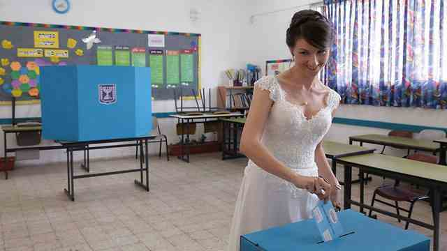 2015-03-19 foto verkiezingen israel 2