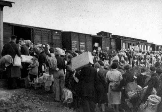 Deportatie Joden Tweede Wereldoorlog