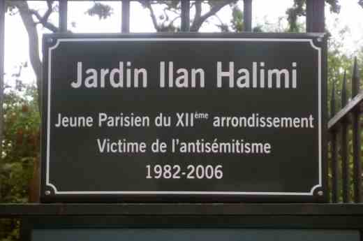 Ilan-Halimi-Plaque