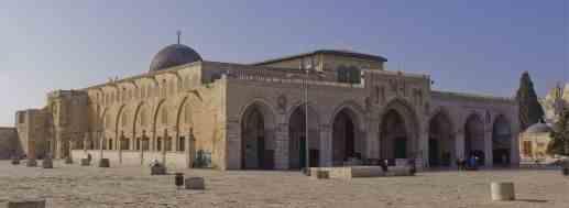 De Al-Aqsa Moskee / foto van Andrew Shiva