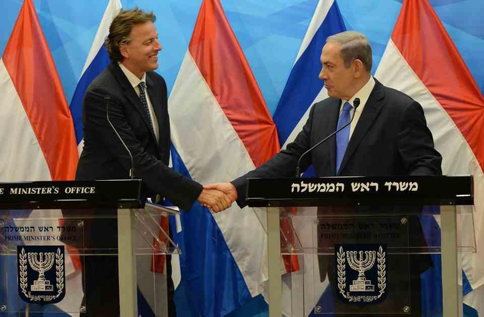 2015-07-14 foto koenders netanyahu