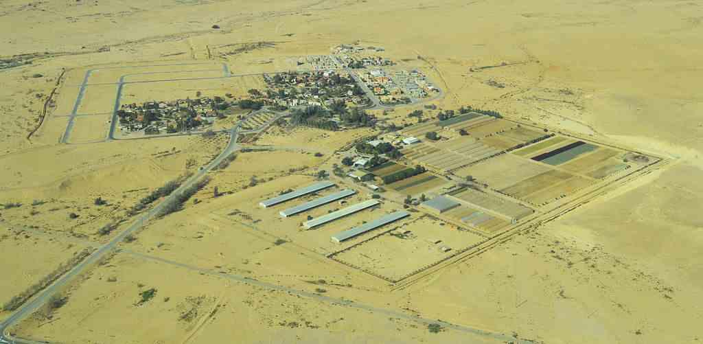 Ashalim in de Negev-woestijn, Israël