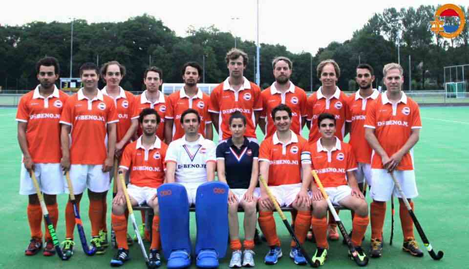 2015-07-23 maccabi hockey nederlands team maccabiade