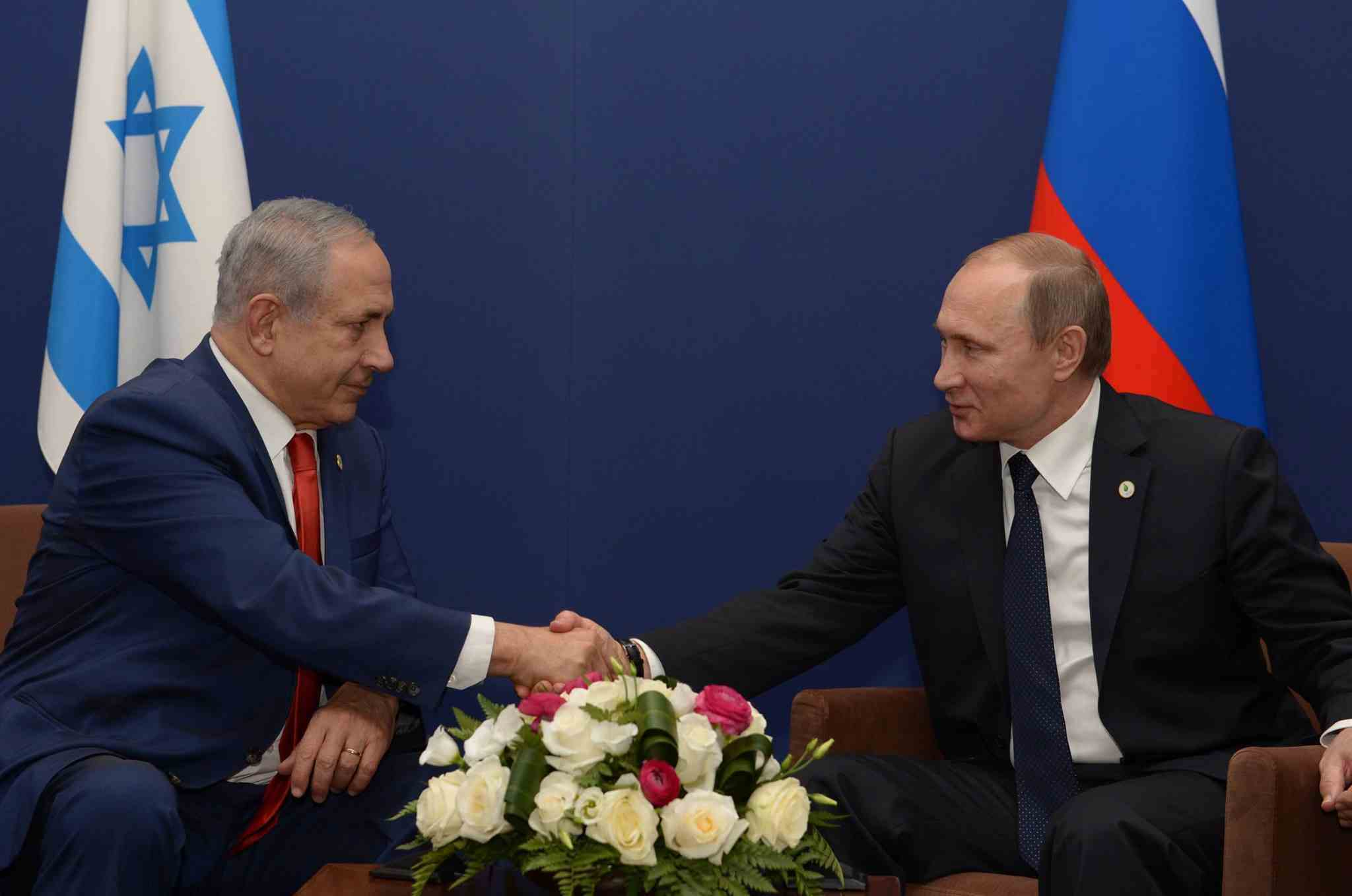 israel rusland netanyahu poetin
