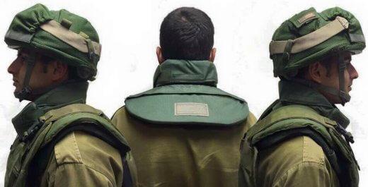 Soldaten Israel krijgen nekbescherming