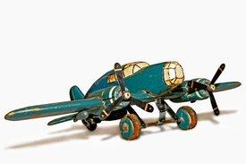 Vliegtuig: Oorlogscadeau Joop Levy van neef Jonny Levy