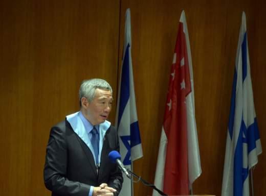 Lee Hsien Loon, premier van Singapore.