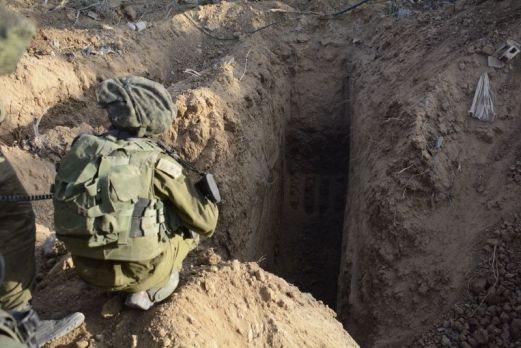 IDF_Tunnels_Gaza
