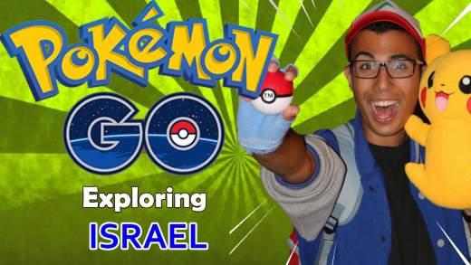 Pokemon Go Israel