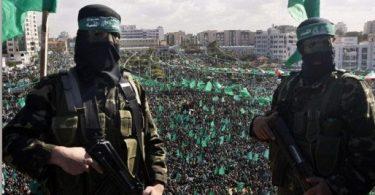 Islamitische terreurbeweging Hamas, die de scepter zwaait in Gaza