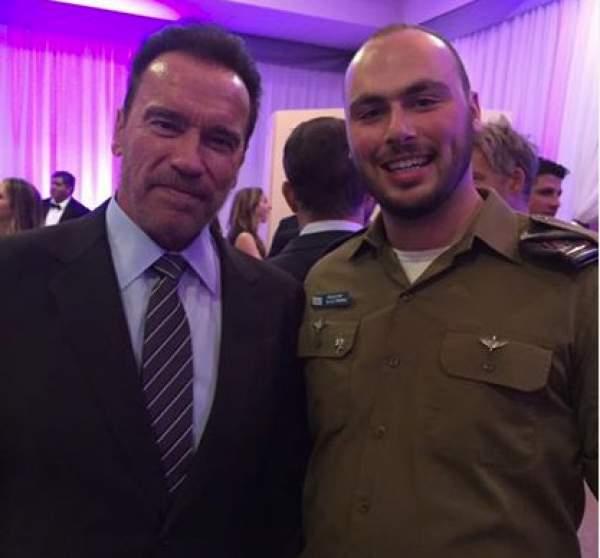 Arnold Schwarzenegger Israel