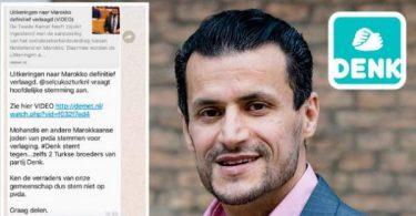 """Antisemitisch app-bericht in omloop: """"Stem niet op Marokkaanse joden!"""" App zou gelieerd zijn aan de politieke partij DENK."""