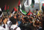 Anti-Joodse leuzen bij Rotterdamse demonstratie