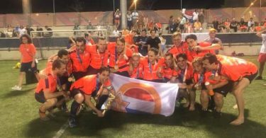 Nederlands hockeyteam wint goud
