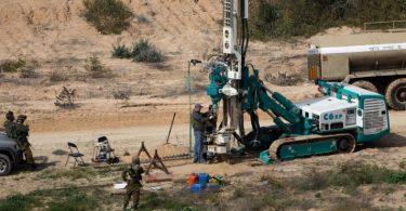 Israel bouwt ondergrondse muur