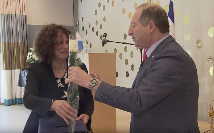 Boy Edgar ontving postuum Yad Vashem onderscheiding