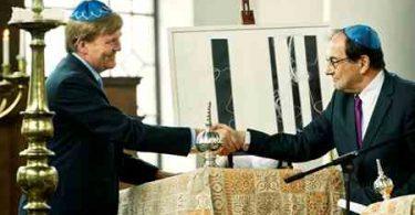 Koning Willem-Alexander in Snoge