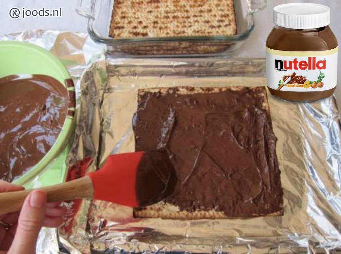 Nutella Matzetaart Pesach Recept