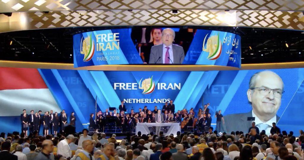 Ad Melkert spreekt bij Iraanse terreurorganisatie
