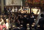 Joods Huwelijk. Choepa in de Esnoge