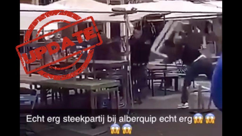 Steekpartij Amsterdam Albert Cuypmarkt Amsterdam
