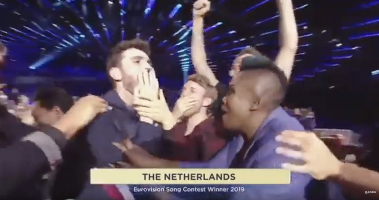Duncan Laurence wint Eurovisie Songfestival