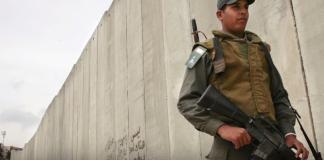 Israel gaat een veiligheidsmuur langs grens met Gaza bouwen