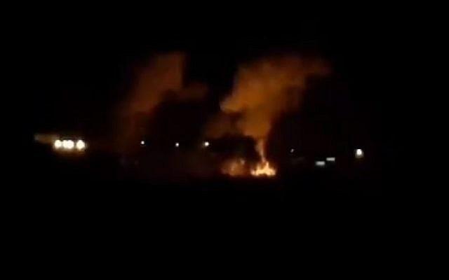 Na 3 raketten op zuid-Israel heeft IDF Hamas posities in Gaza aangevallen