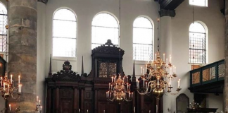 Portugese Synagoge Amsterdam. Screenshot: YouTube