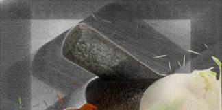 Sefardische rijst, kip en citroen-munt relish